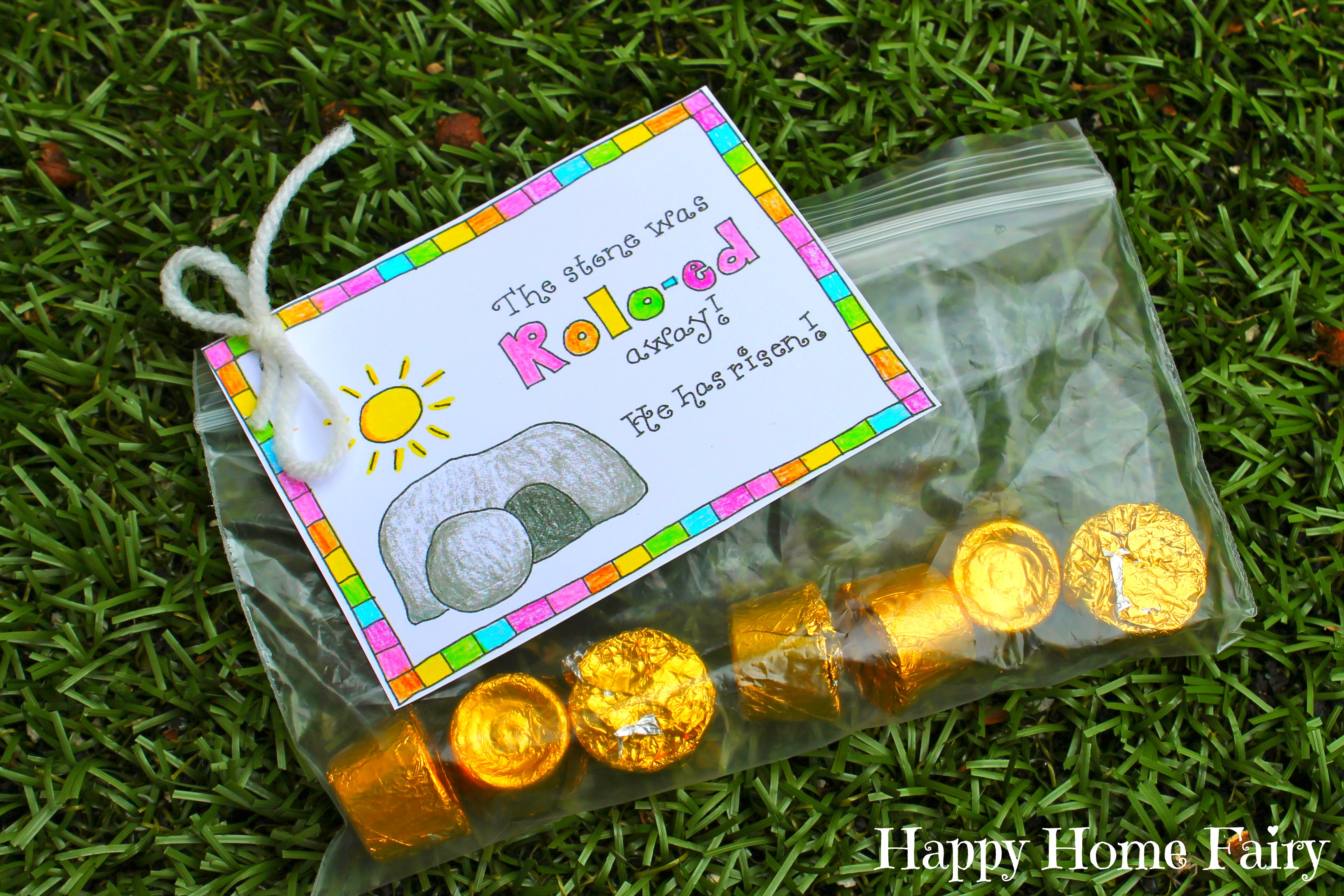 Five creative treats for a faith filled easter basket share a prayer easter treat tags negle Image collections