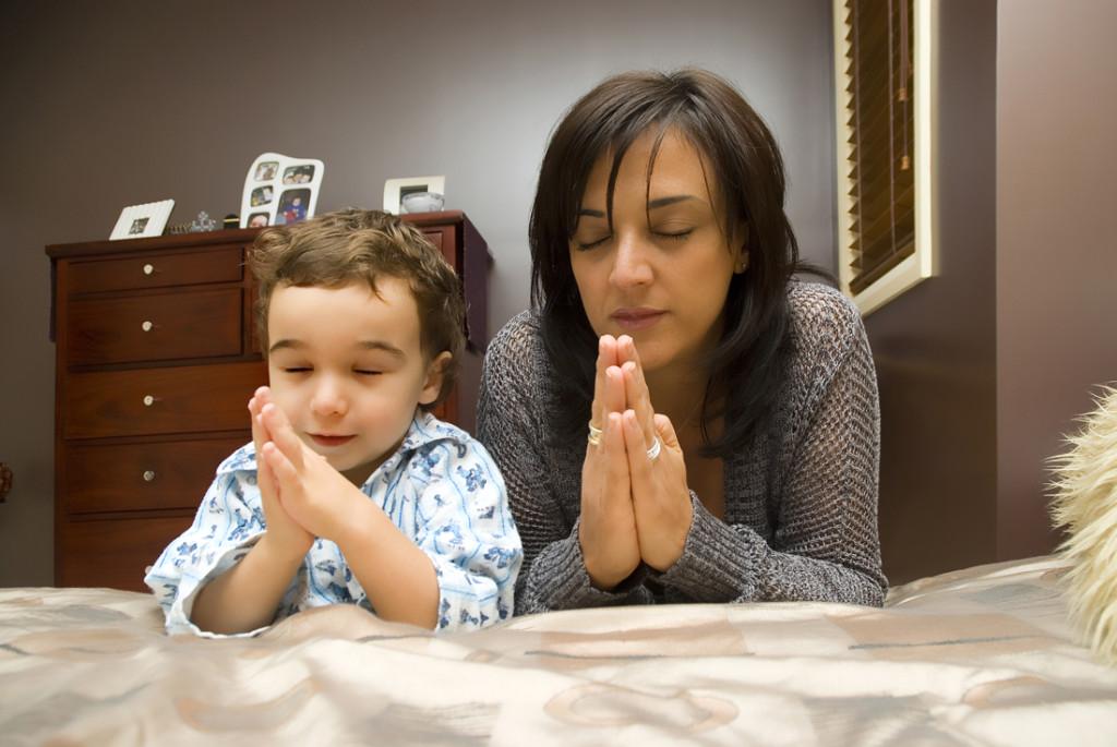 Praying Preschooler