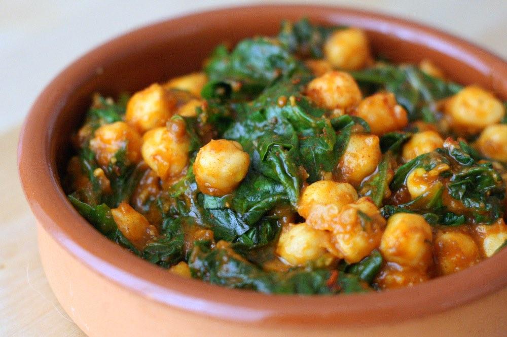 Tapa: Espinacas con Garbanzos (Spinach and Chickpeas) - Share A Prayer